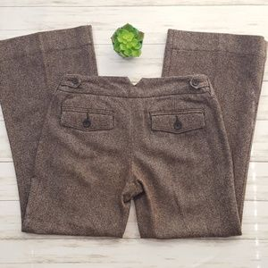 "Banana Republic wool blend trousers size 6 X 29"""